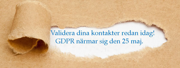 Ta tag i de 3 möjligheterna med GDPR